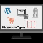 WDC005 – Die verschiedenen Website Typen
